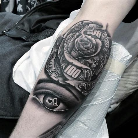 rose tattoo for guys pin by josue on dop money money