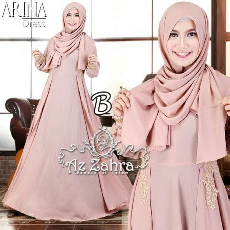 Gamis Muslim Arina Syar I arina b baju muslim gamis modern