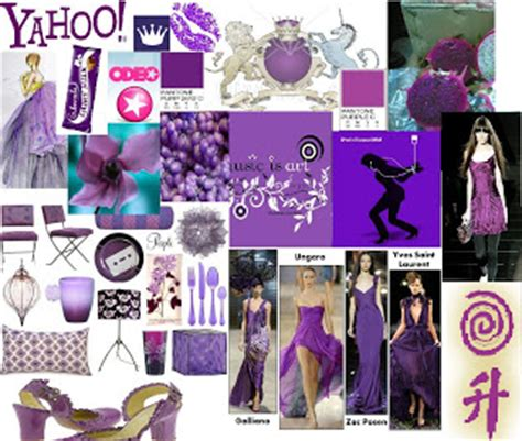 what mood is purple colour and fashion trends 2008 purple mood board