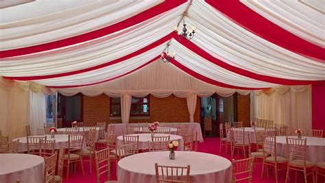 marquee drapes marquee roof drapes baytreeevents co uk