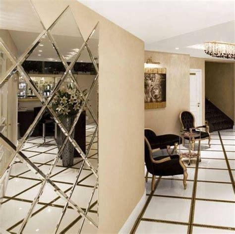 Luxury Beveled Mirror tiles decoration for lobby hallway
