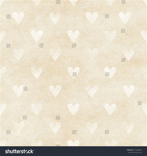 texture heart pattern seamless watercolor heart pattern on paper texture