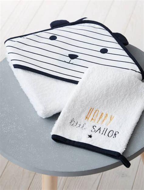 set bagno neonato set mantella da bagno e guanto coordinato panda neonato