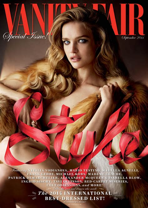 Www Vanity Fair by Vodianova S Major Vanity Fair Cover