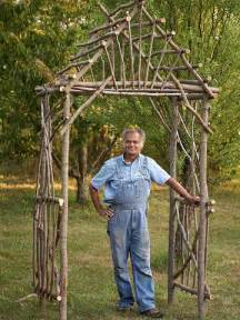 How To Build An Arbor Trellis Rustic Arbor On Pinterest Rustic Wedding Arbors Wedding