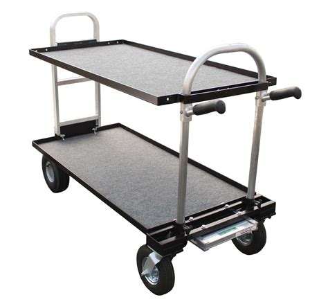 Senior Shelf by Magliner Senior Cart Modified With 8 Inch Wheels Top And