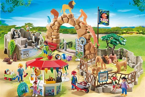 Playmobil Large Zoo playmobil large city zoo toys