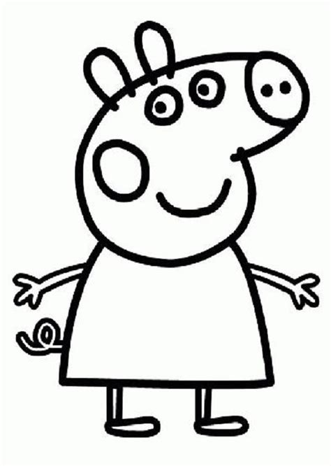 peppa pig para colorear pintar e imprimir dibujos peppa pig para imprimir y colorear dibujos para