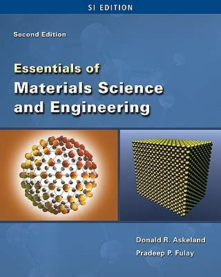 engineering materials book essentials of materials science and engineering si