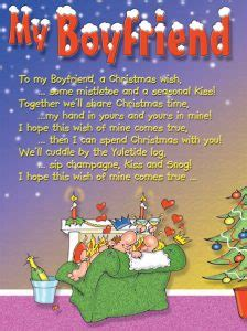 christmas card message to boyfriend special day celebrations