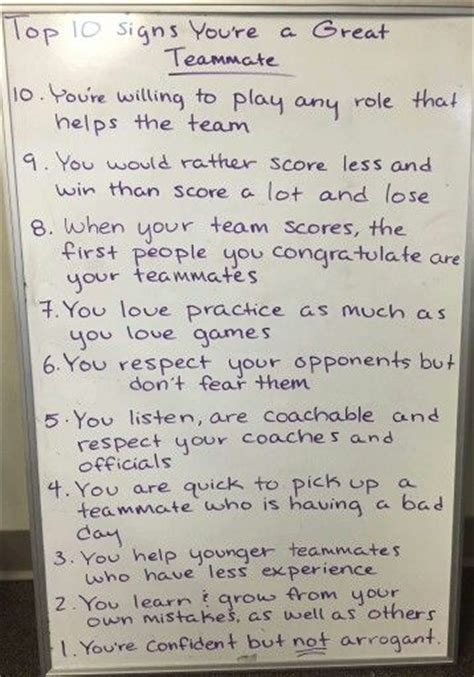 up letter to a player 25 best teammate quotes on inspirational team