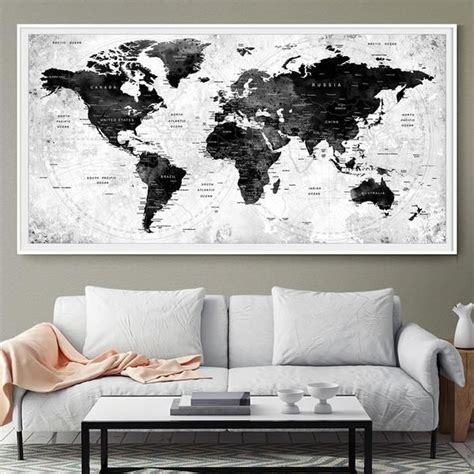 words for the wall home decor 25 best ideas about map wall decor on world