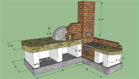 outdoor kitchen blueprints how to build an outdoor kitchen howtospecialist how to