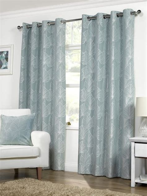 curtains at tesco direct buy pippa ready made curtains pair 46 x 54 duck egg