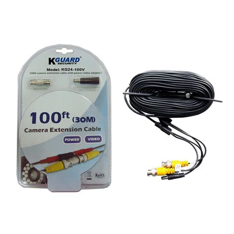 100 Ft Cable - 100 ft bnc to bnc extension cables for security cameras