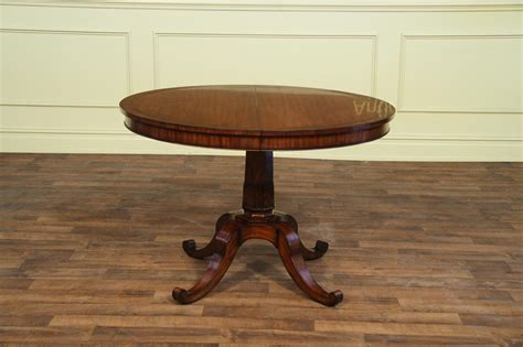 Small Dining Tables With Leaves Small 44 Inch Expandable Dining Table With Leaves Mahogany Ebay