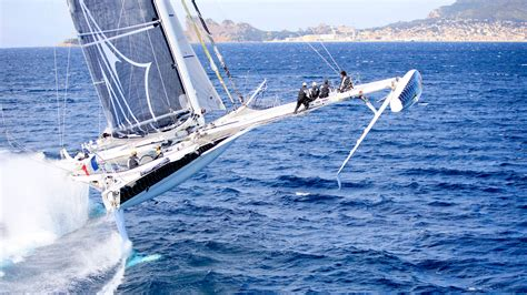 trimaran around the world the world s fastest sailing multihulls sail magazine