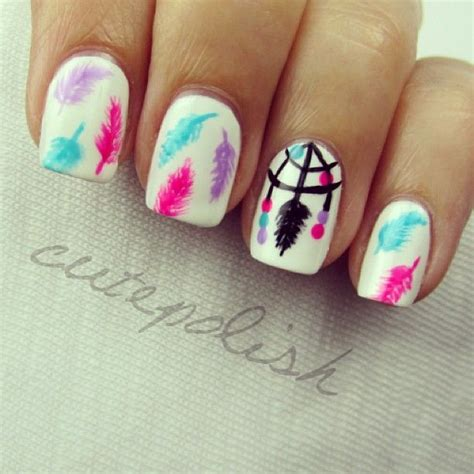 cutepolish doodle flowers 17 best ideas about feather nail on