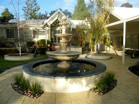 French Country Kitchens Ideas water features inspiration sacred garden australia