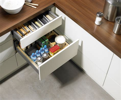Kitchen Cabinets Installation opening system for purist furniture design hettich