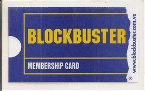 Blockbuster Gift Cards - functional card blockbuster shops audio and video venezuela blockbuster col ve