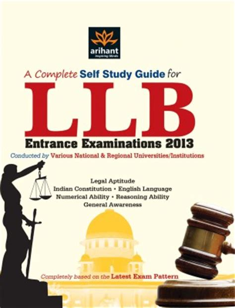 Study L Flipkart by Buy A Complete Self Study Guide For Llb Entrance 2013