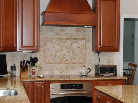 pictures of backsplash in kitchens travertine tile backsplash ideas kitchen designs