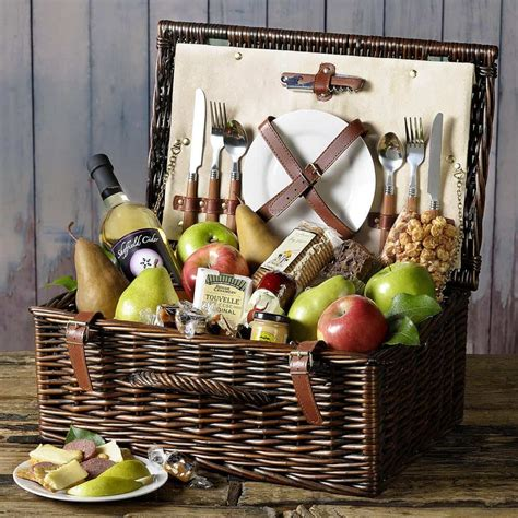 picnic basket ideas giveaway summer picnic basket from the fruit company steamy kitchen recipes