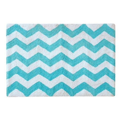 Aqua Bathroom Rugs Chevron Bathroom Rug Chevron Navy 20 Inch X 30 Inch Bath Rug Bedbathandbeyond Kassatex Linen