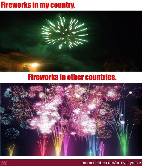 Fireworks Meme - fireworks in new year by armyskymice meme center