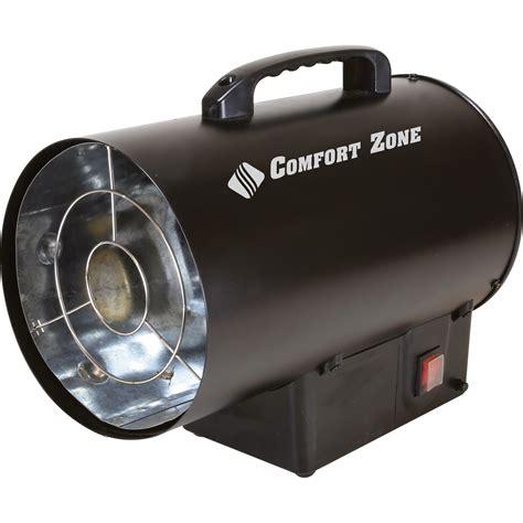 propane heater with fan comfort zone fan forced propane heater 35 000 btu model