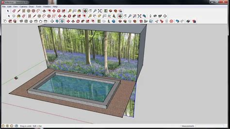 vray sketchup reflection tutorial sketchup water or glass reflection youtube