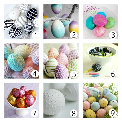 easter egg decor 18 ways to decorate easter eggs u create