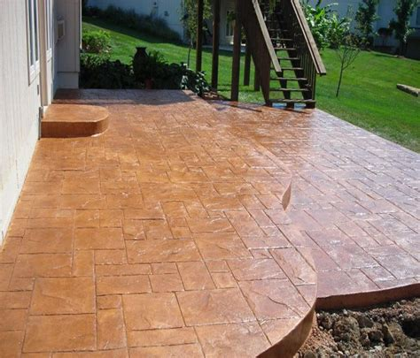 colored concrete patio image result for http glissonconstruction wp
