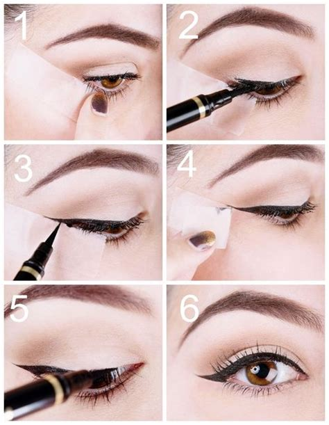tutorial eyeliner con scotch tutorial how to use scotch tape to perfect your liquid