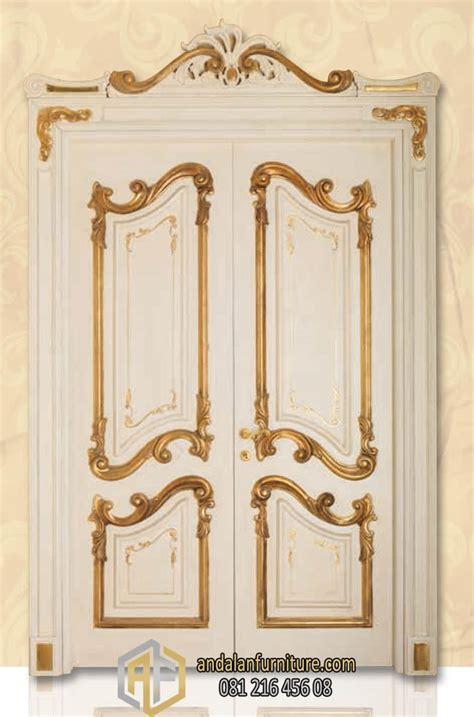 Pintu Garasi Kayu Ker gambar pintu kamar rumah mewah dari kayu jati home design idea