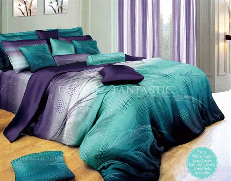 King Bed Quilt Cover Set Zephyr Duvet Doona Quilt Cover Set King King Size Bed Cotton Ebay