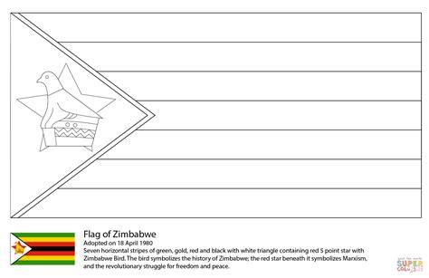 somalia flag coloring page