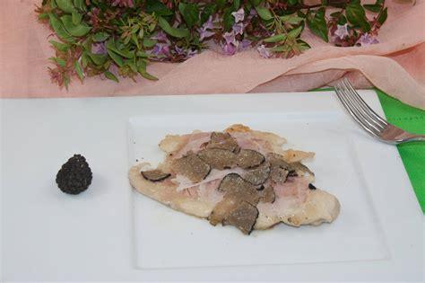 come cucinare tartufo nero come fare il petto di pollo al tartufo nero ricette di