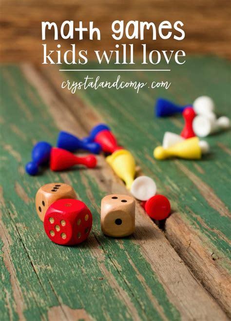 classroom math games that kids will love that make mathematics games for kids