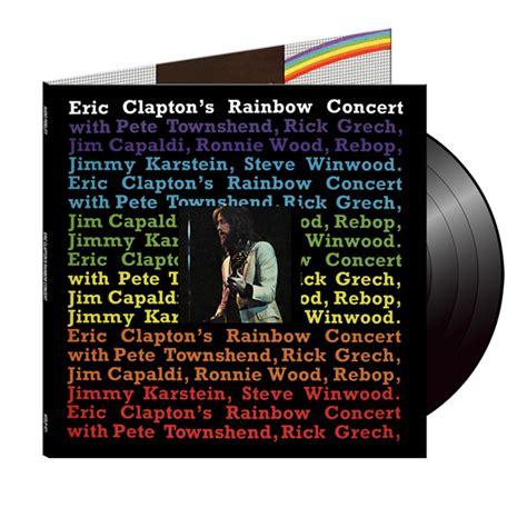 Eric Clapton S Rainbow Concert Vinyl - eric clapton s rainbow concert on vinyl lp oldiesmusicblog