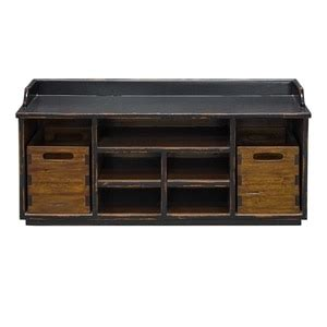 solid wood entryway storage bench concord rustic wood entry bench with storage and coat rack