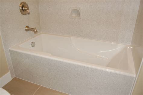 Bathtub With Surround by Diy Bathtub Surround Icsdri Org