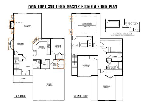 twin home floor plans ahscgs com twin home floor plans