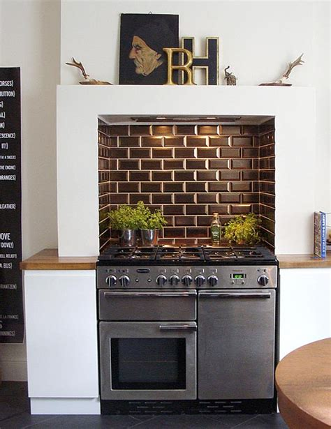 kitchen mantel ideas look a kitchen stove designed into a chimney with the