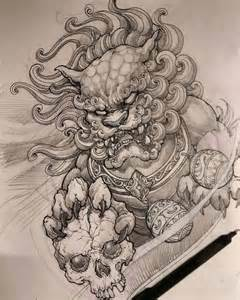 best 25 foo dog ideas on pinterest foo dog tattoo