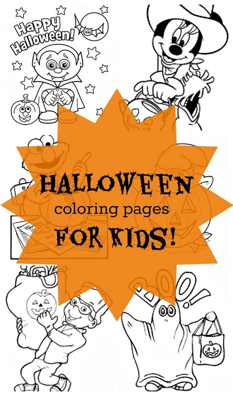 24 free halloween coloring pages for kids 24 free printable halloween coloring pages for kids