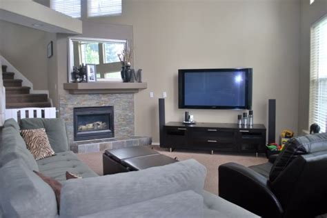 where to put tv beautiful tv over fireplace where to put cable box on tv