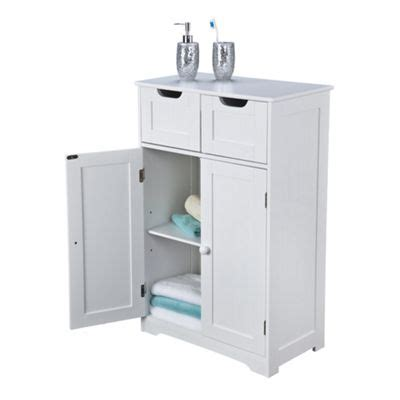 free standing bathroom cabinets tesco buy kensa double cabinet white from our bathroom wall