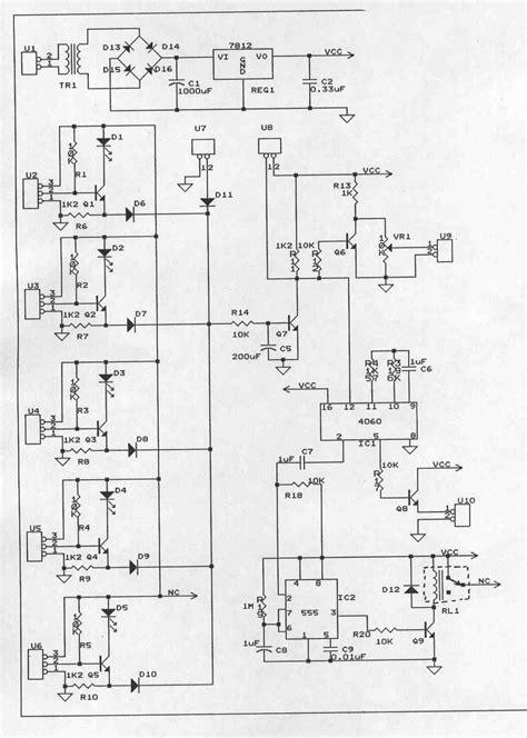 alarm panel circuit diagram simple alarm circuit project